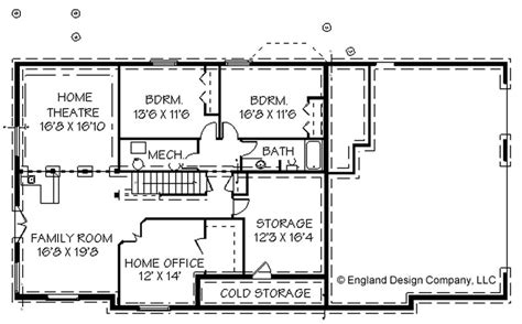 Ranch House Floor Plans With Basement Awesome Home Plans With Basements 14 Ranch House Floor Plans With Basement Smalltowndjs