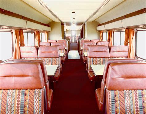 Southwestern Home Designs Interior Of A Superliner I Dining Car 1980s Amtrak