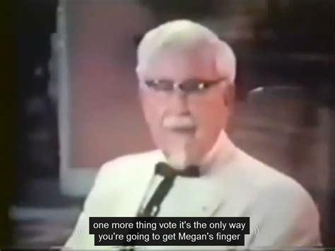 Colonel Sanders Memes - colonel sanders terms youtube automatic caption fail