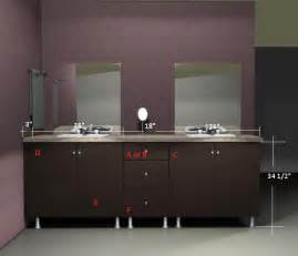 ikea vanities organized interiors