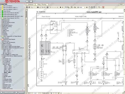 toyota coaster toyota optimo workshop service manual