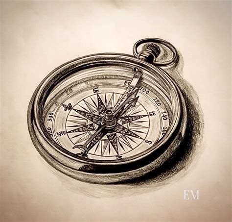 compass tattoo hd some awesome compass artwork personally hand drawn