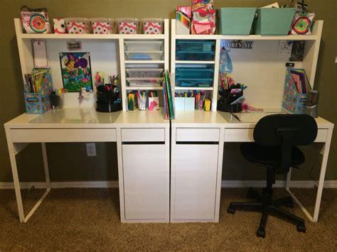 Ikea Study Desks by Ikea Micke Desks For The Done Kid Desks