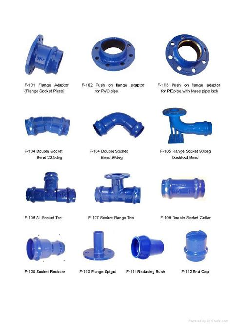 iron pipe l parts ductile iron fittings for pvc pipe as request china