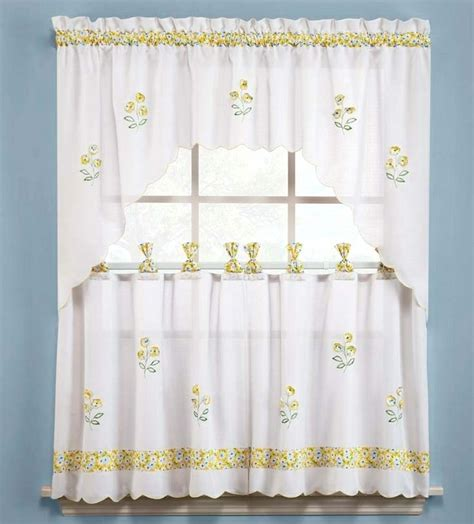 daisy kitchen curtains 17 best images about cortinas on pinterest window
