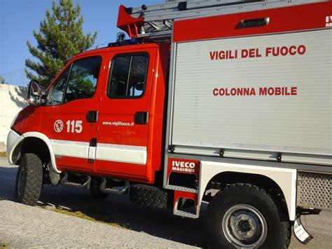colonna mobile protezione civile terremoto in partenza la colonna mobile della regione