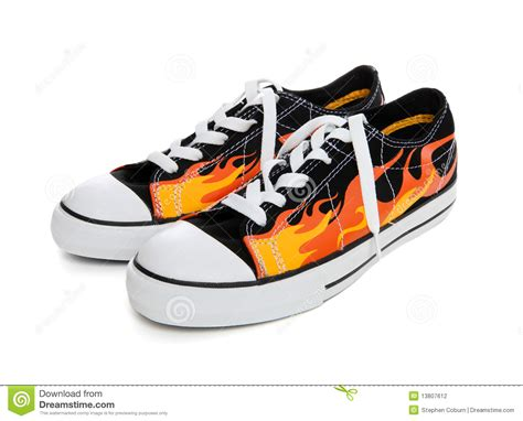 sneaker stock sneakers tennis shoes stock photo image 13807612