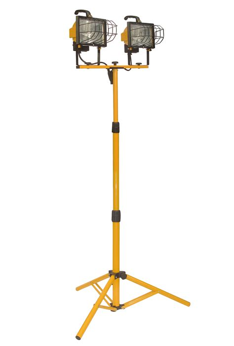 arlec 1000w halogen worklight with tripod worklight 1000w w tripod