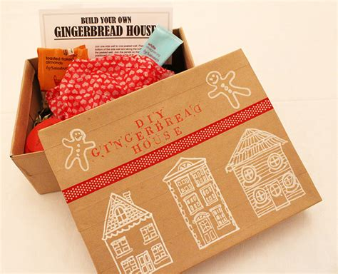 diy gingerbread house homemade diy gingerbread house kit annie ko