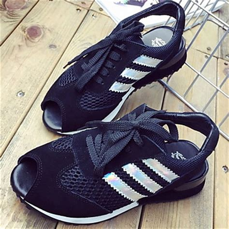 s shoes leather wedge heel wedges peep toe athletic