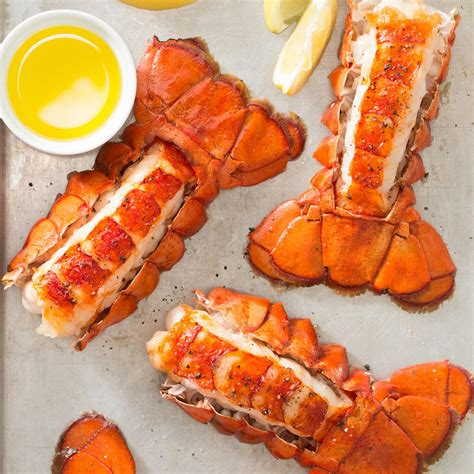 broiled lobster tail recipe taste of home
