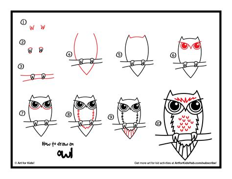 how to draw an owl learn to draw a cute colorful owl in video how to draw an owl for kids local santa cruz