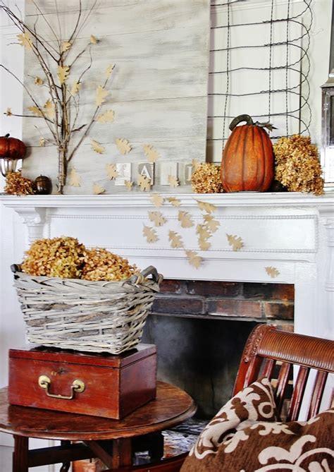 decorating fall diy fall mantel decor ideas to inspire landeelu