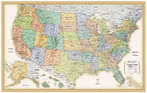us interstate highways wall map united states wall maps