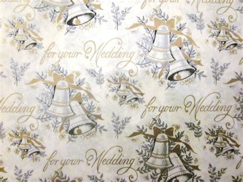 printable wedding wrapping paper vintage wrapping paper for your wedding full sheet
