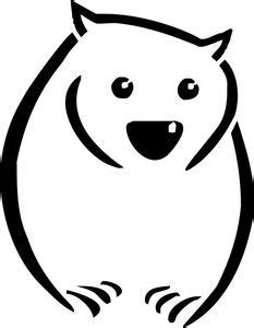wombat tattoo designs wombat potential black and white