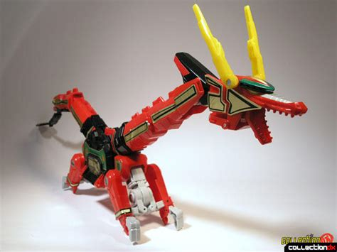 Lego Transform Warrior Thunder deluxe thunderzord collectiondx