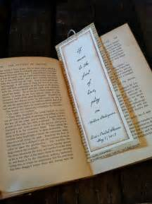 Wedding Favors Bookmarks by 40 Best Bookmark Wedding Favors Images On