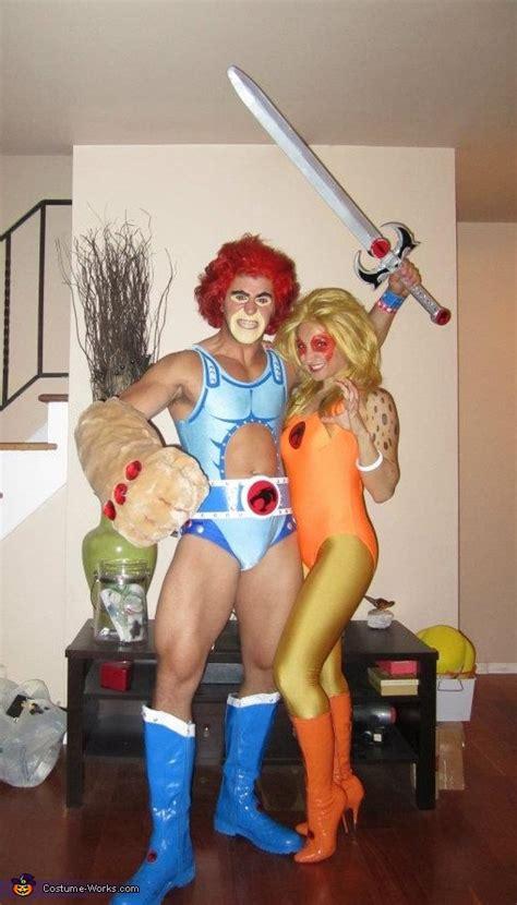 thundercats lion   cheetara couple costume