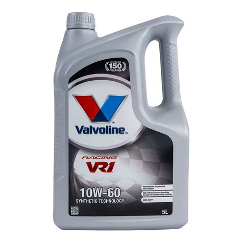 valvoline vr1 racing motor oil product catalog valvoline valvoline vr1 10w60 semi synthetic race racing oil ebay