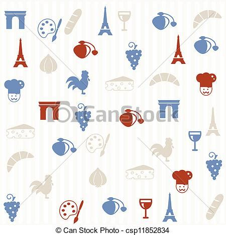 seamless pattern en francais vectors of french seamless pattern french seamless