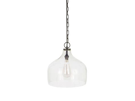 small glass pendant light small cowbell l glass pendant l loaf