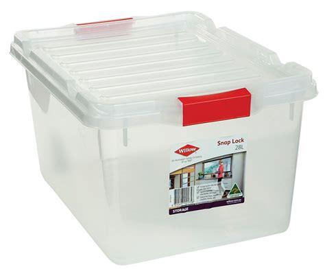 willow storage box  snap lock lid  storage box