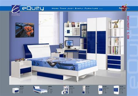 Lemari Pakaian Equity siantano kamar set anak type equity blue kemenangan