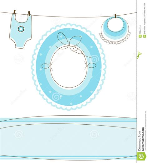 baby boy arrival design stock images image 13644514