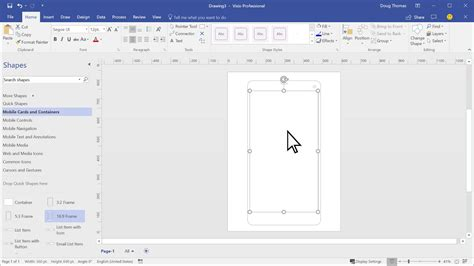 wireframe visio website and mobile app wireframe visio templates bring