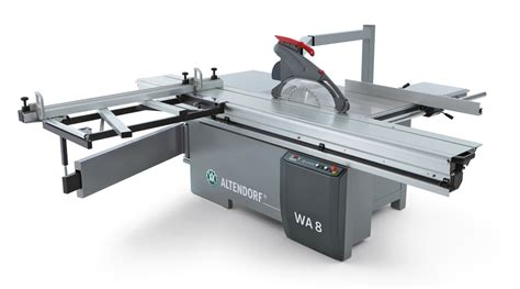altendorf wa series sliding table saws stiles machinery