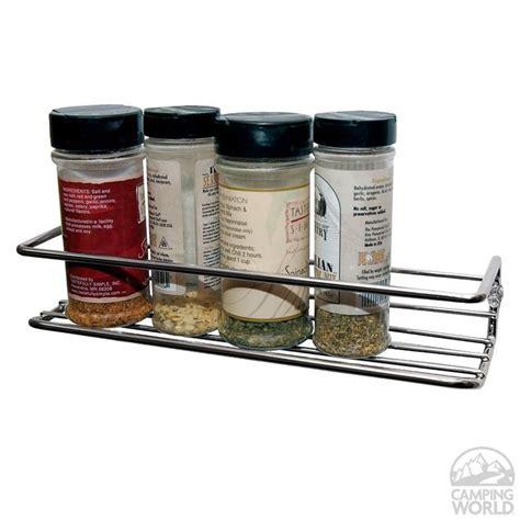 Spice Rack Chrome chrome spice rack