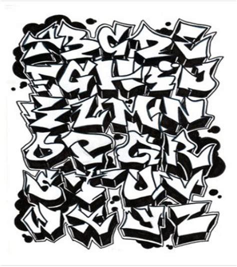 lettere stile graffiti serawot graffiti alphabet style a z