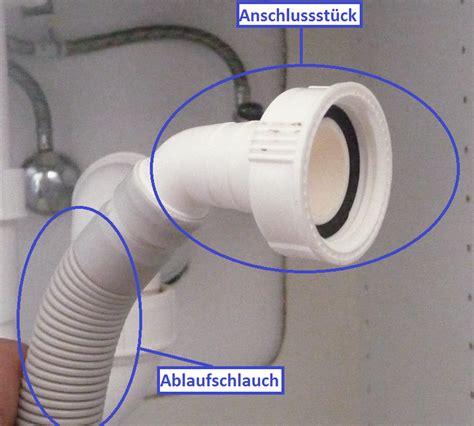 waschmaschine ablaufschlauch adapter sp 252 lmaschine anschlie 223 en wie die profis