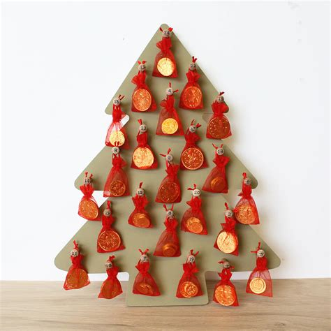 christmas tree advent calendar by a b furniture