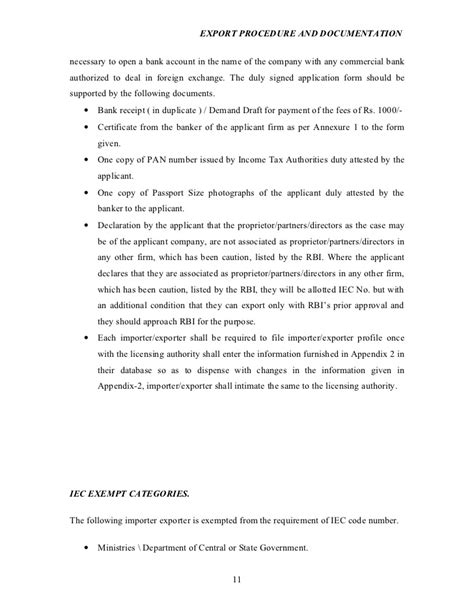 Demand Letter Attested By Indian Mission Export Procedure And Documentation Project Report On