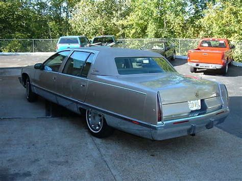 1995 cadillac fleetwood brougham purchase used 1995 cadillac fleetwood brougham in fenton