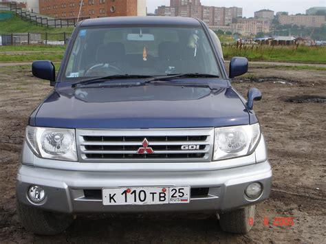 mitsubishi pajero 1999 1999 mitsubishi pajero io pictures information and