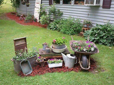 Ideas For My Garden Garden Patio And Garden Gardens Centerpieces And Rustic Gardens