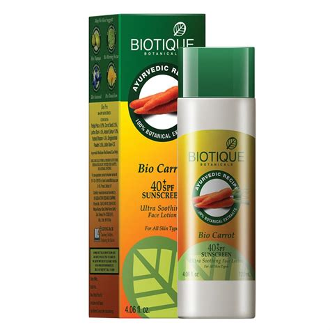 Sale Immortal Sunscreen Lotion biotique bio caroot sunscreen lotion 40 spf eze