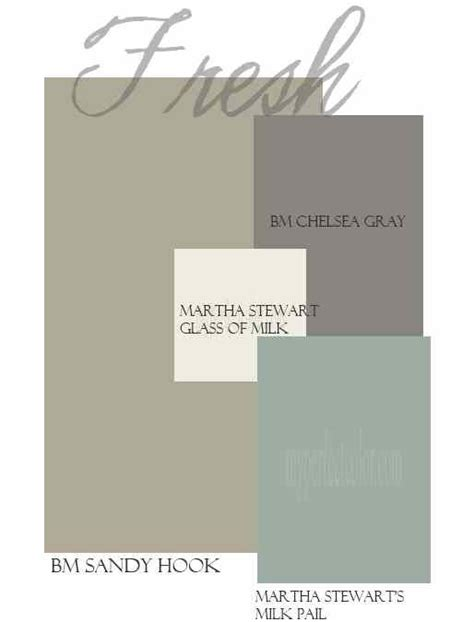 martha stewart exterior paint colors blue and gray color palette benjamin and martha