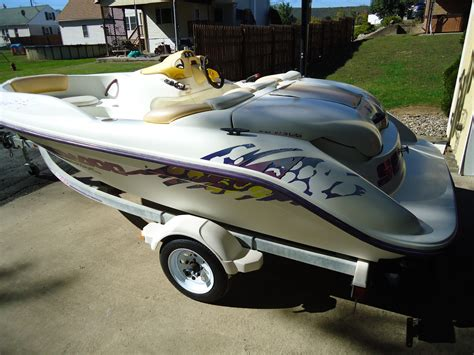 seadoo and boat trailer seadoo speedster boat and trailer boat for sale from usa