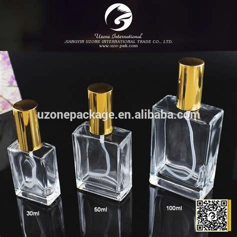 Bottle 50ml 30ml 50ml 100ml square glass perfume bottle perfume bottle