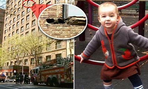 york girl greta greene dies   struck  brick debris daily mail