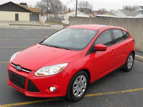 cars like ford focus hatchback find used 2012 ford focus se hatchback 4 door 2 0l looks