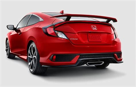 honda civic coupe 2017 2017 honda civic si coupe overview