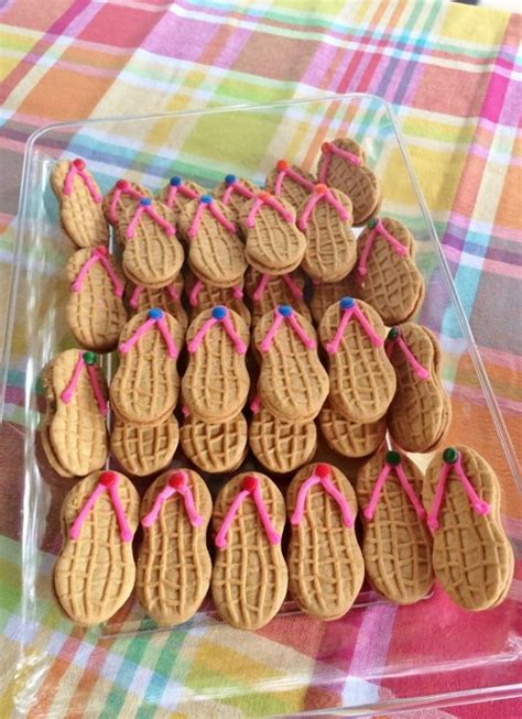 beach themed party kit beach party birthday flip flop cookie themed parties