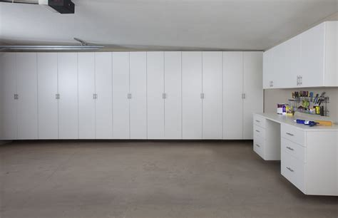 garage cabinets make the most of vertical space in your garage get