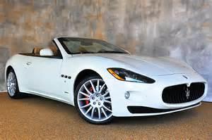 Convertible Maserati For Sale 2014 Maserati Granturismo Convertible Information And