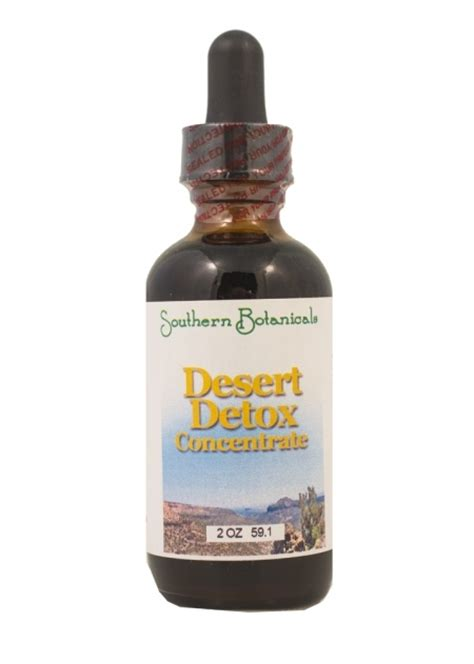 Desert Detox by Desert Detox Concentrate Organic Herbal Remedy For Your